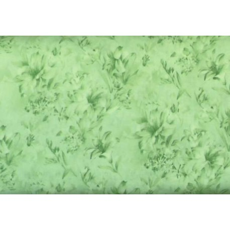 Day Lily Green 183-2556 by Fabri Quilt